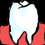 Śliczne nienaganne zęby dodatkowo godny podziwu uroczy uśmieszek to powód do zadowolenia.